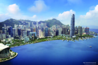 New Central Harbourfront (Photomontage from Planning Department)