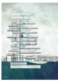 Lawson Lai, Dharavi Water Tower for Informal Urbanism, 2011