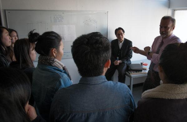 Studio with Ken and Ho Yin,