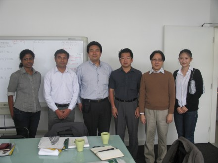 Stephen Lau, Acting Head of Architecture was host to a group of academics from Japan
