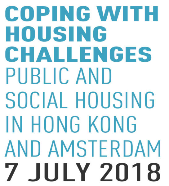 Coping with housing challenges: Public and social housing in Hong Kong and Amsterdam