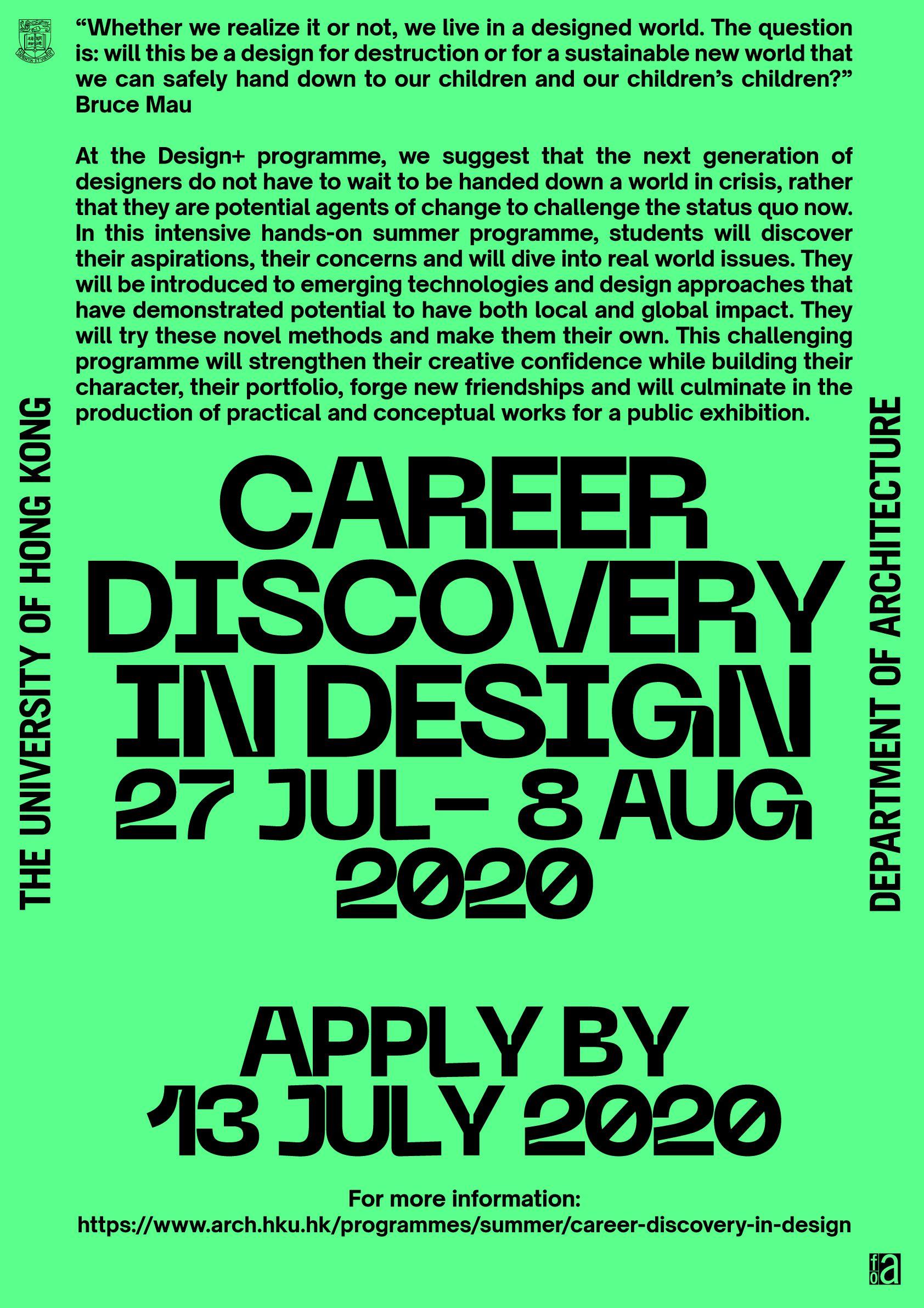 Programme Poster