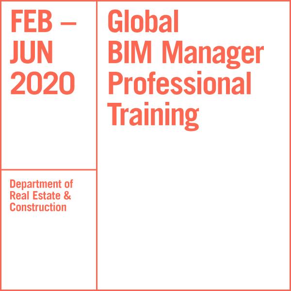 Global BIM Manager Professional Training