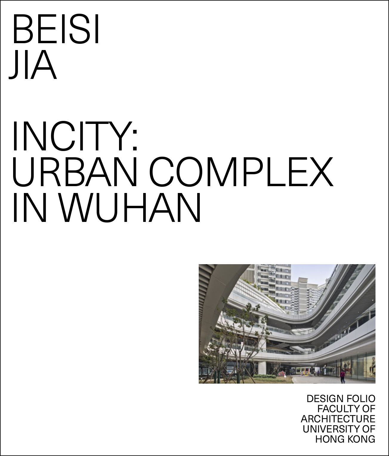 InCity Urban Complex in Wuhan