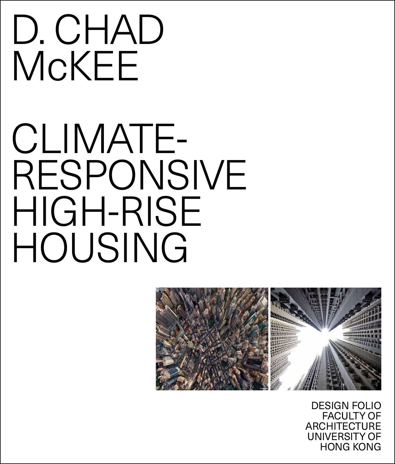 Climate Responsive High-rise Housing