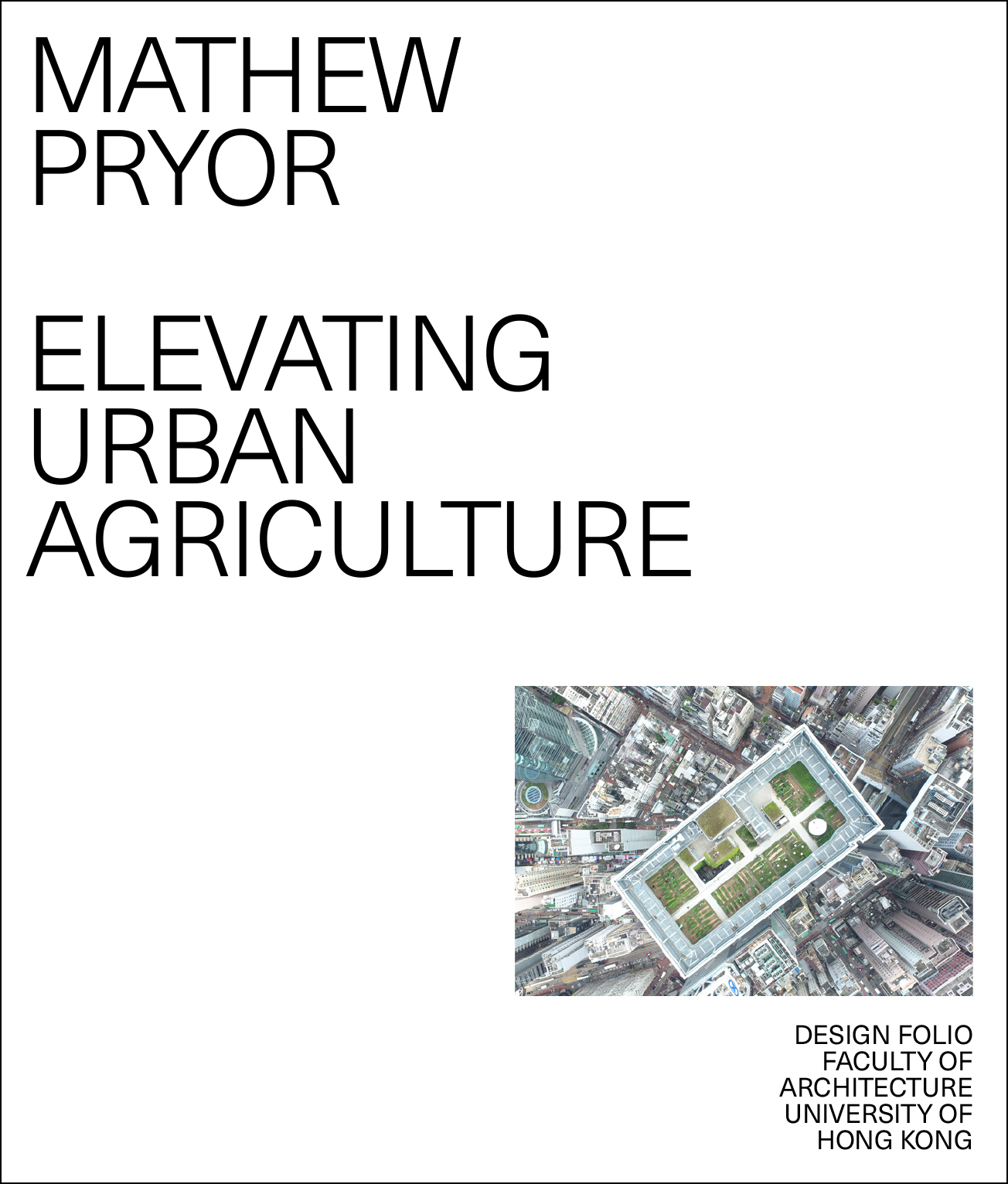 Elevating Urban Agriculture