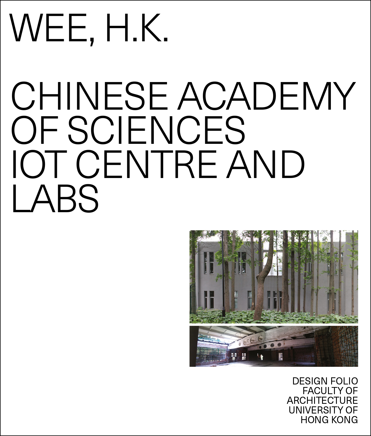 Chinese Academy of Sciences IOT Centre and Labs