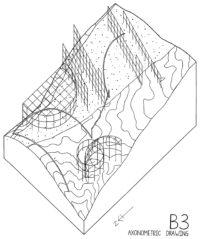 Enlarge Photo: Axonometric drawing (P3). By CHEANG Yuk Ching Sarah.
