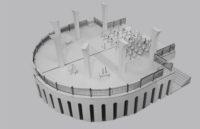 Enlarge Photo: Model of Pier No.9, Central. By CHAN Sze Wah Naomi; HE Jingsu Tinnix; WEI Gongqi William.