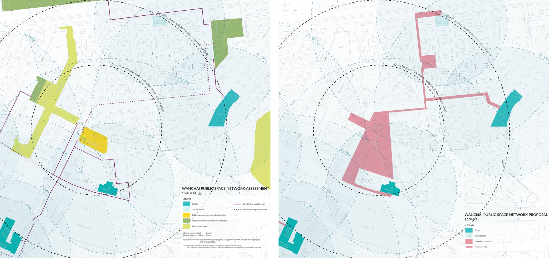Enlarge Photo: Site Design and Public Space Network Masterplanning: Assessment & Proposal. By CHUI Kei Ching.