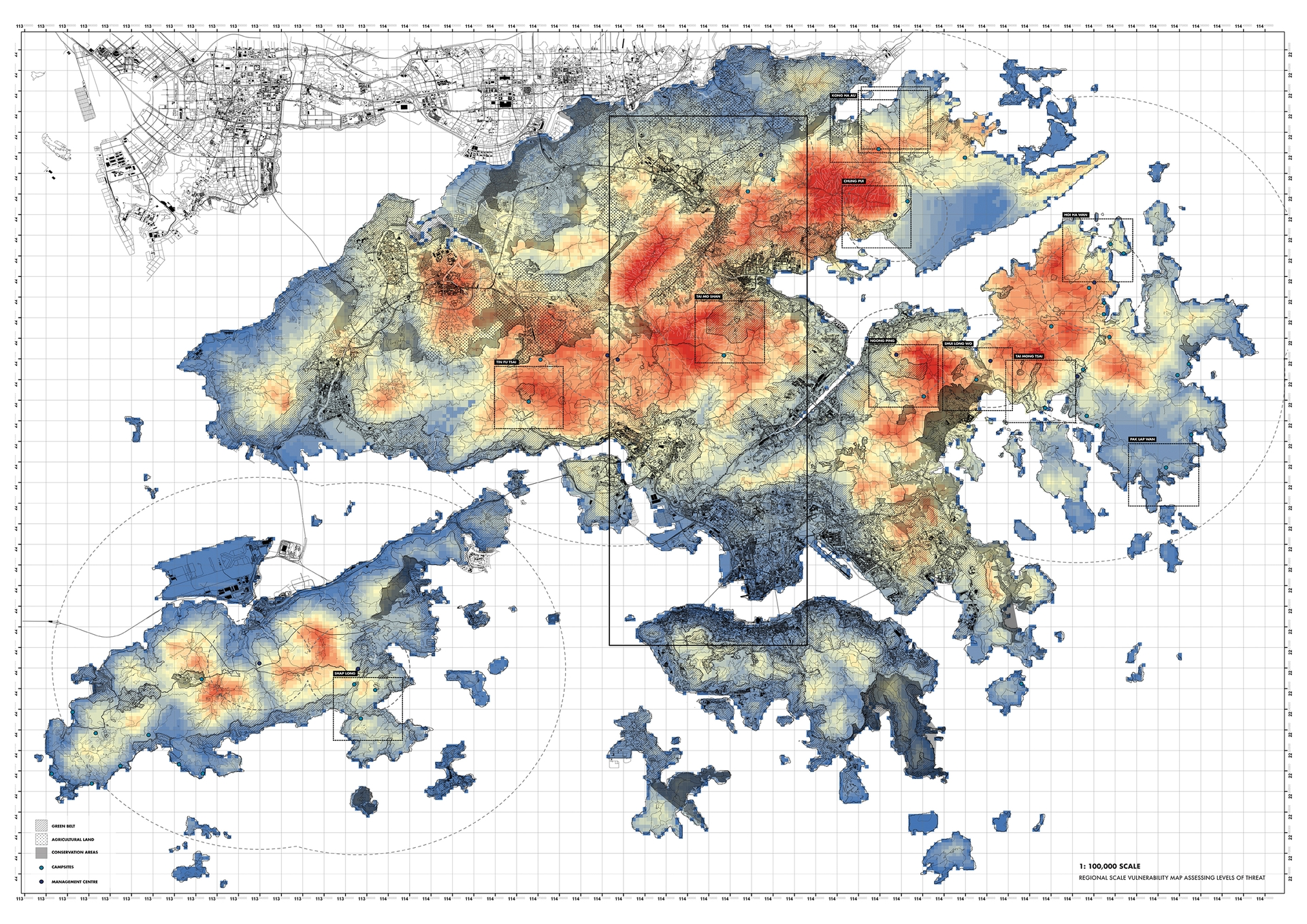 Enlarge Photo: Conservation Watch: Nuanced modelling approaches for adaptive management of Hong Kong's conservation landscapes. By SHUM Siu Kei David.