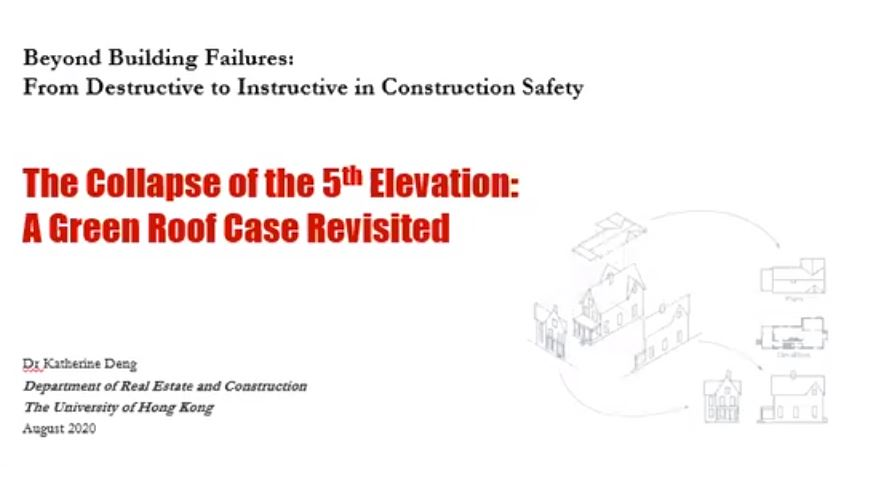Beyond Building Failures: From Destructive to Instructive 1