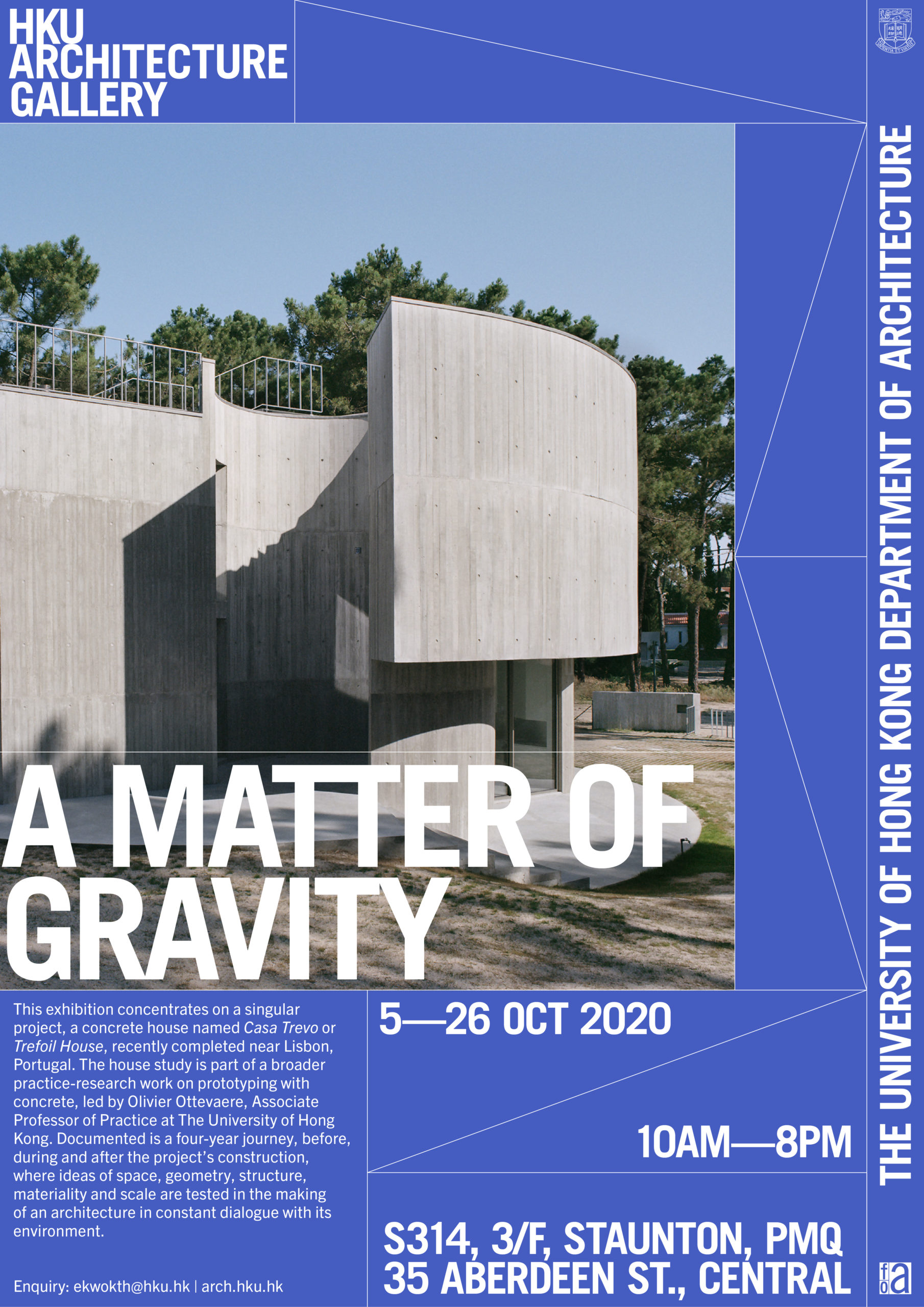 """""""A MATTER OF GRAVITY"""" Exhibition @ PMQ"""