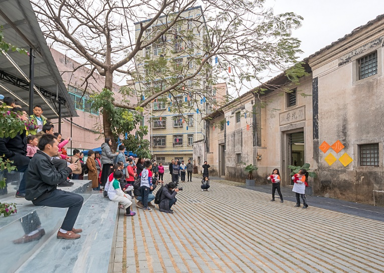 Community Center and Migrant Workers School – Adaptive Reuse of Historic Hakka Village 1