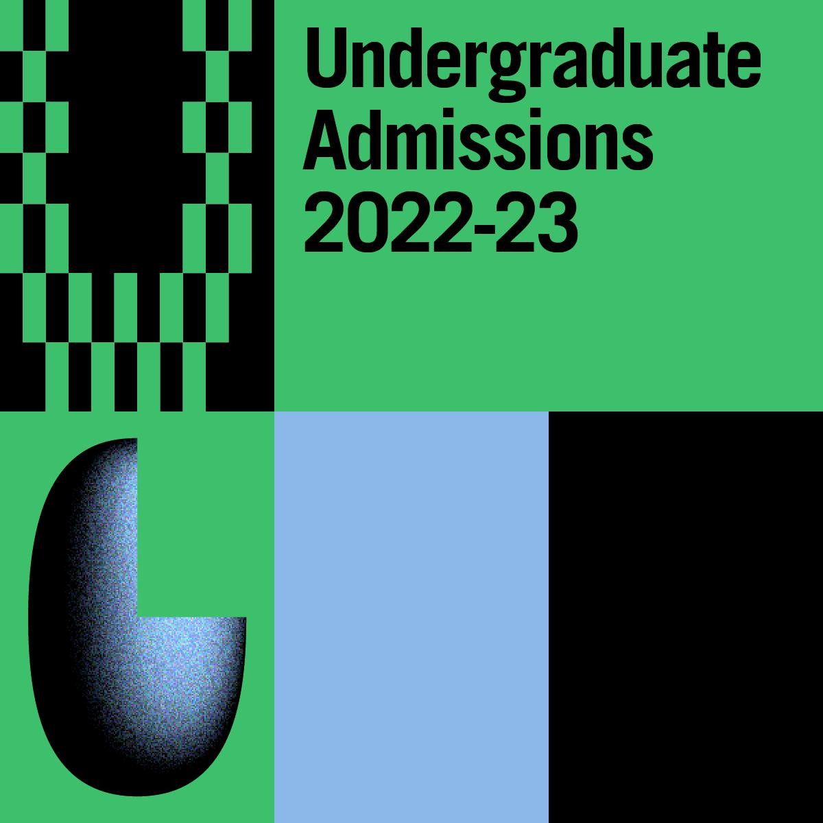 Undergraduate Admissions 2022-23