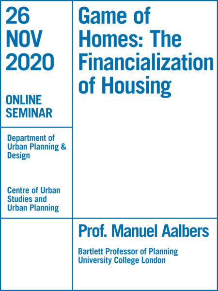 Game of Homes: The Financialization of Housing