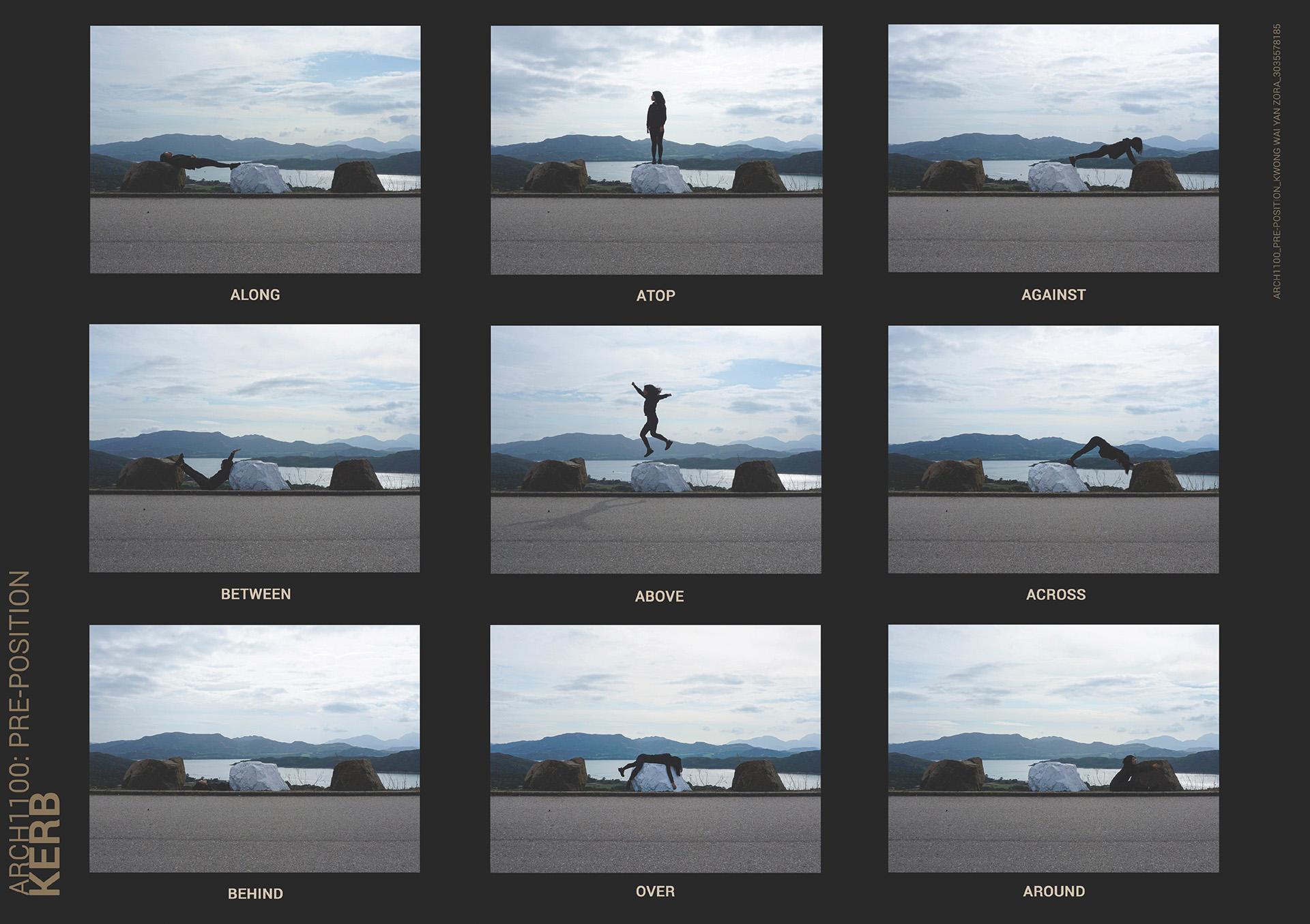 Enlarge Photo: Prepositions. By KWOK Wai Yan Zora.