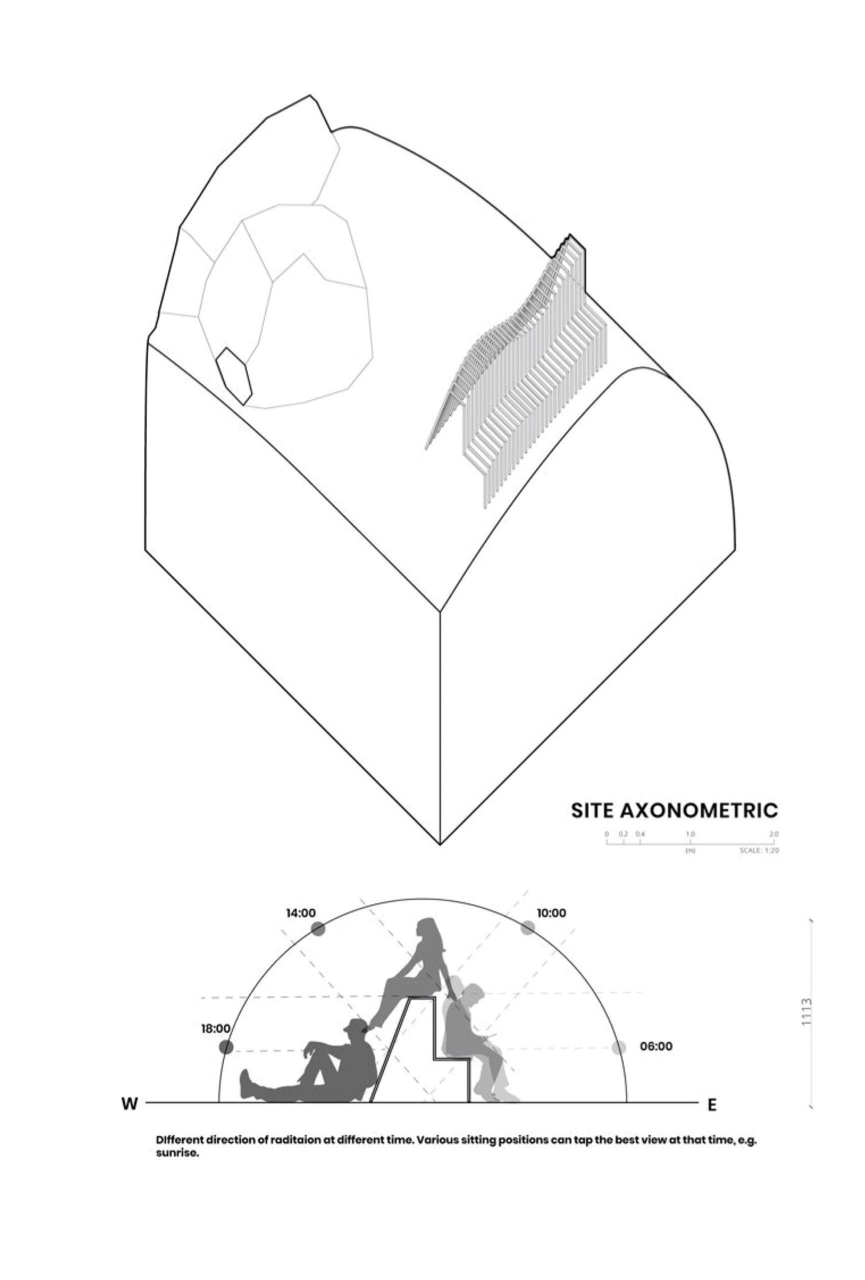 Enlarge Photo: Axonometric View. By LAI Man Ki Maisy.