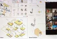 Enlarge Photo: Final review: Presentation of LI Ho Lok Klaus's work.