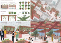 Enlarge Photo: Final project 'Sunday Business District'. By CHEANG Yuk Ching Sarah.