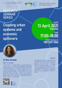 Dr Elsa Arcaute Seminar