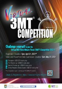 Click to Enlarge the image of HKU 3MT Competition