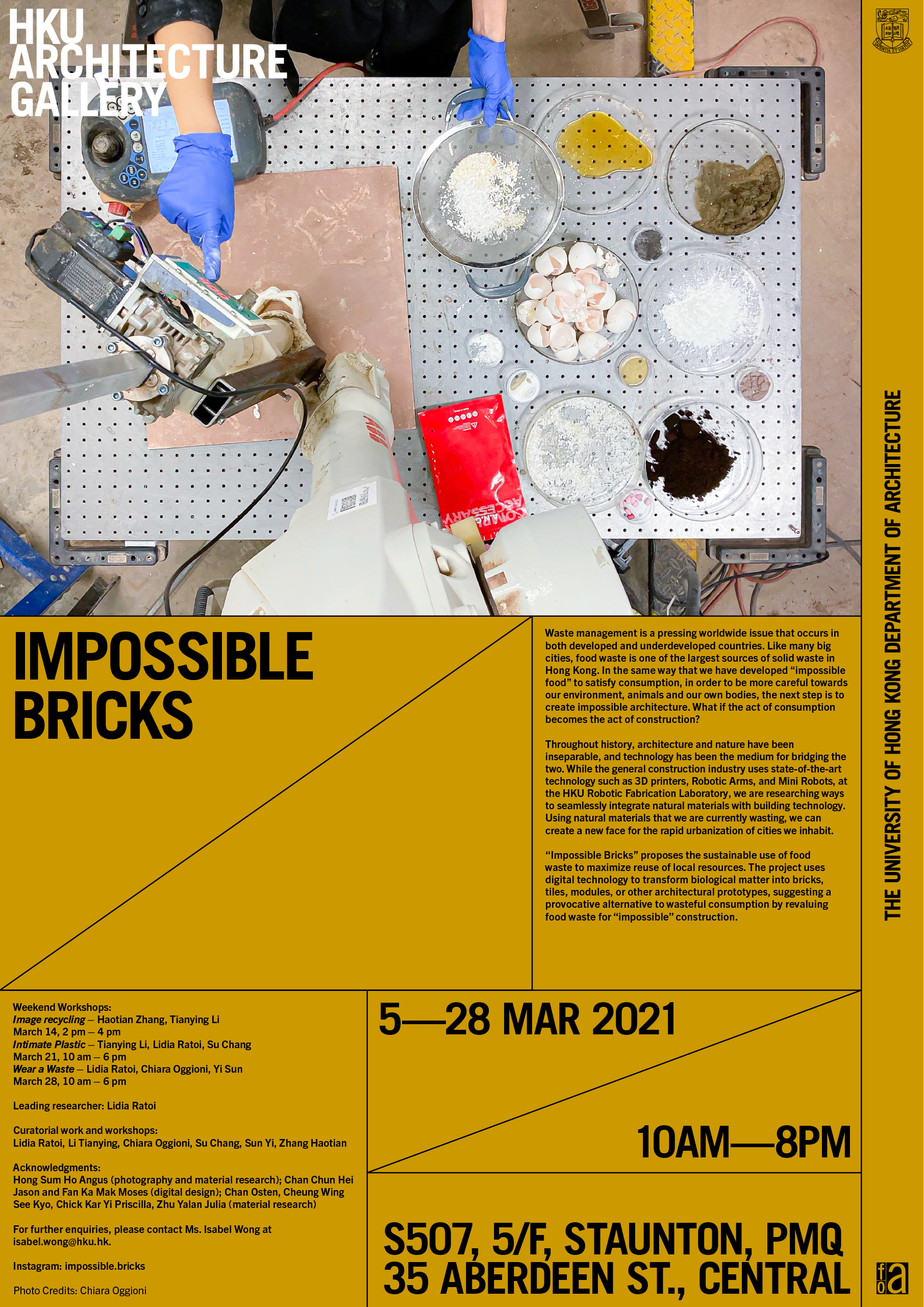 """Impossible Bricks"" Exhibition @ PMQ"