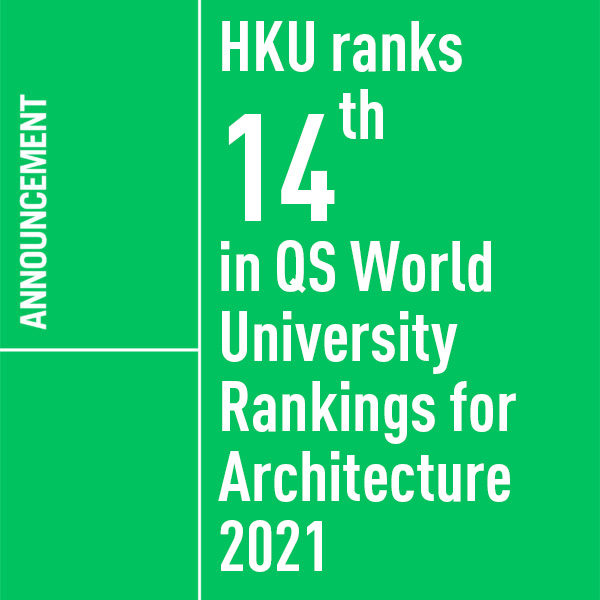 QS World University Rankings for Architecture 2021