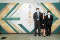 Mr Mathew Pryor, Miss Lynn Hanyuning Lin and Dr Tyrone T.O. Kwok