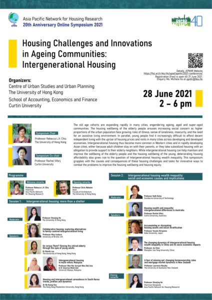 APNHR 20th Anniversary Online Symposium 2021