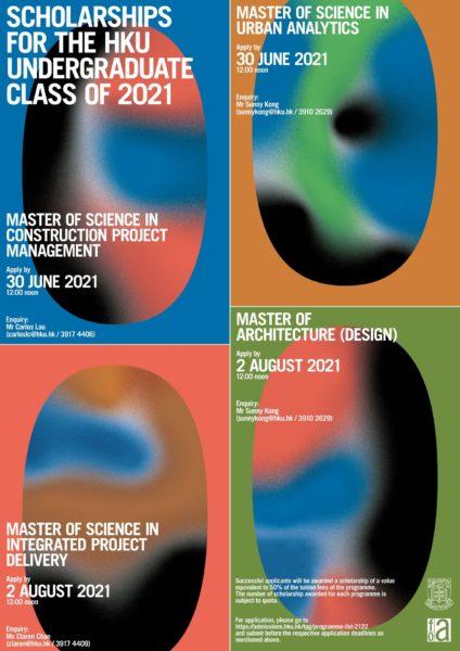 HKU TPG Scholarship for UG Class of 2021