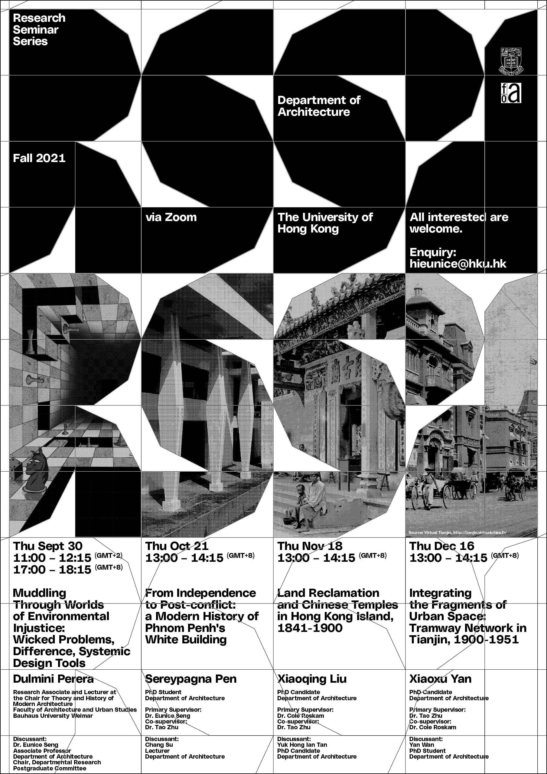Research Seminar Series Fall 2021
