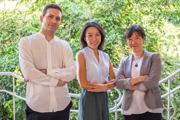 Vincci Mak (PI, centre), together with team members Dr Cecilia Chu and Maxime Decaudin