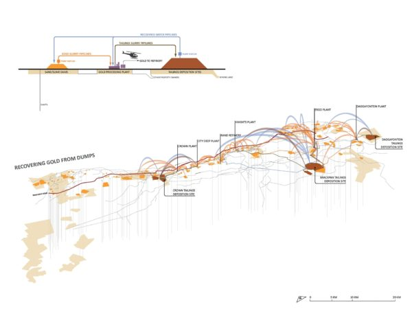 Enlarge Photo: Atlas of Gold: Landscape Transformation of Johannesburg and the Witwatersrand Range 3