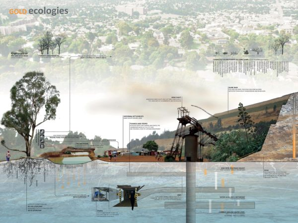 Enlarge Photo: Atlas of Gold: Landscape Transformation of Johannesburg and the Witwatersrand Range 4