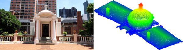 Enlarge Photo: A derivative-free optimization (DFO) approach to architectural symmetry detection from 3D point clouds 1