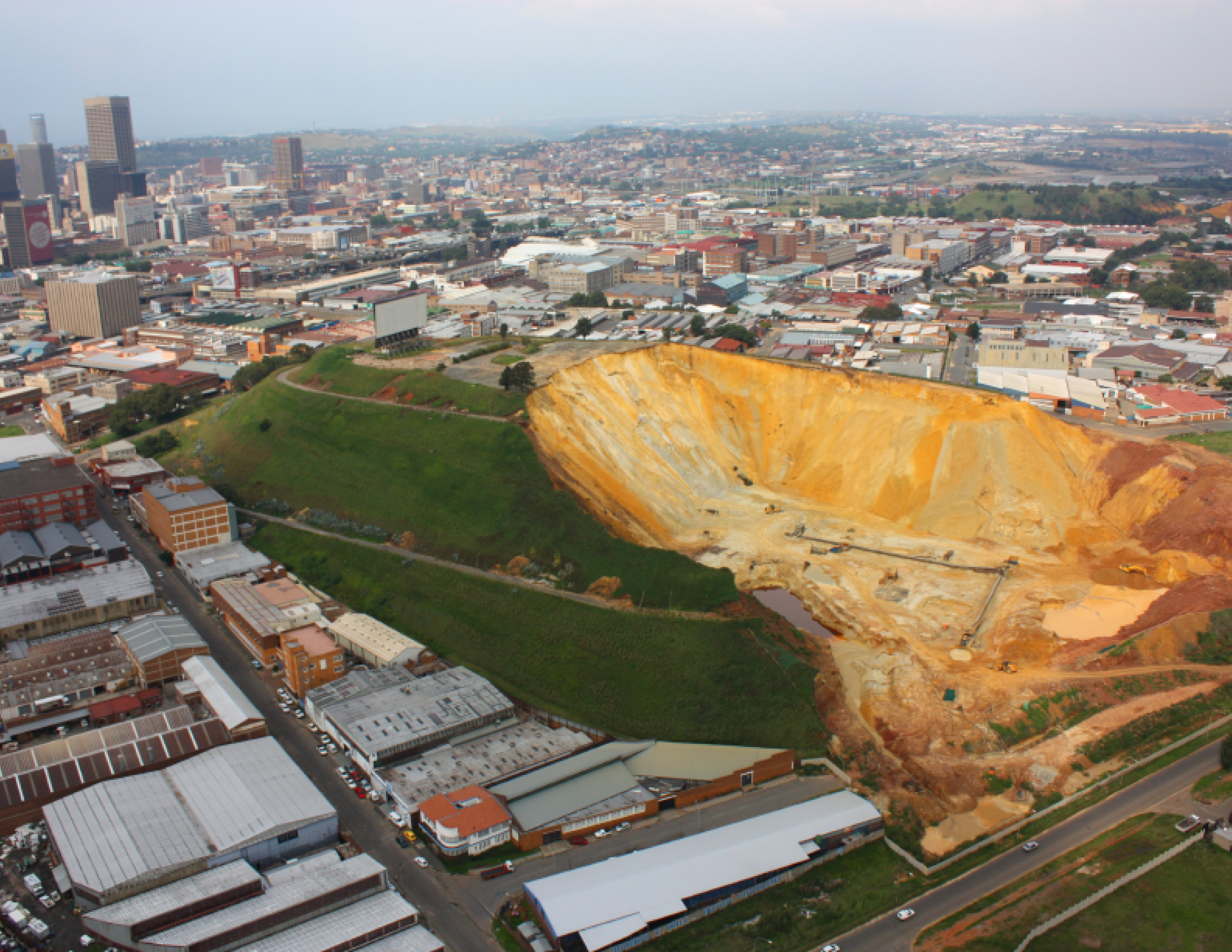 Atlas of Gold: Landscape Transformation of Johannesburg and the Witwatersrand Range