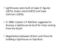 The Gap Rock Lighthouse 7