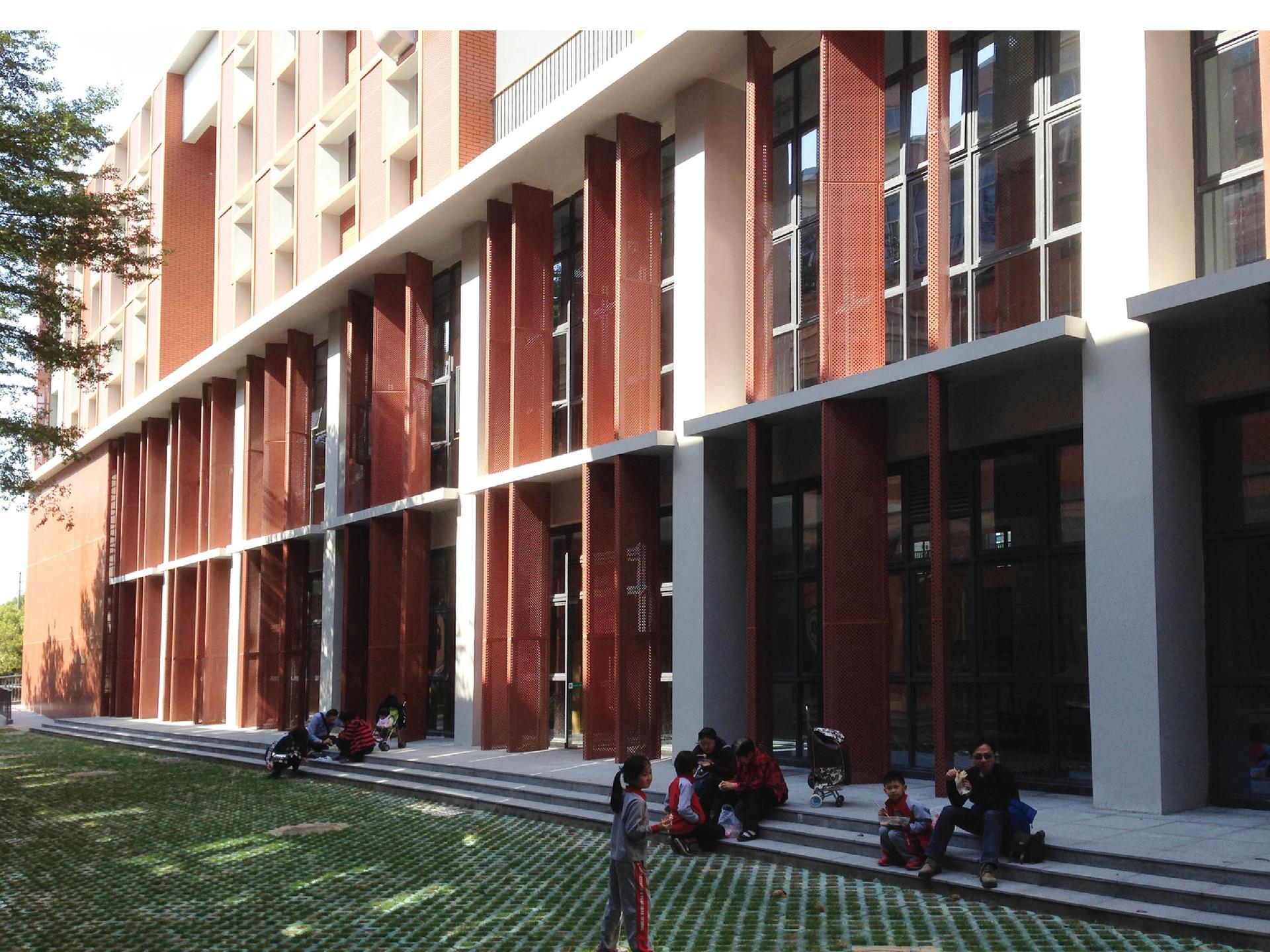 Green Building Design for Taiwan Businessmen's Dongguan School Stadium