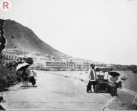 The Peak, Hong Kong, 1868 (Wellcome Library, London), copyrighted work available under <a href='http://creativecommons.org/licenses/by/4.0/' target='_blank'  style='color:yellow'>Creative Commons Attribution only licence CC BY 4.0</a>