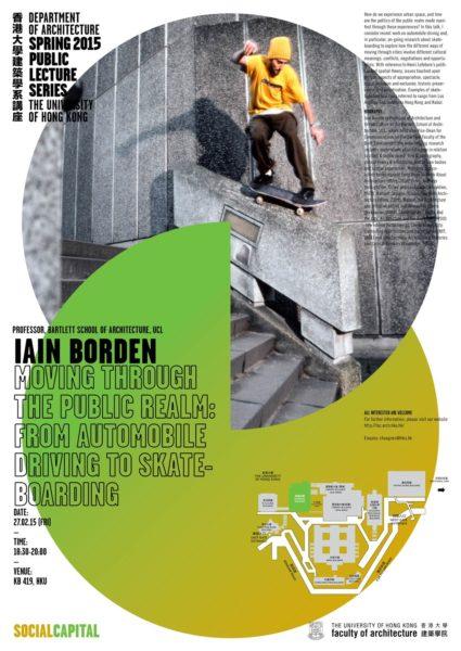 Spring 2015 Public Lecture Series – Iain Borden