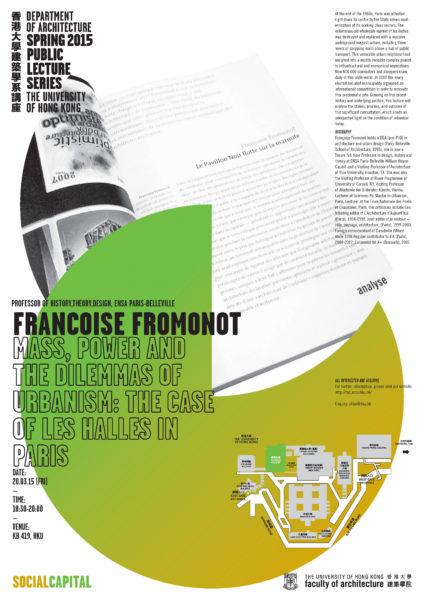 Spring 2015 Public Lecture Series – Françoise Fromonot