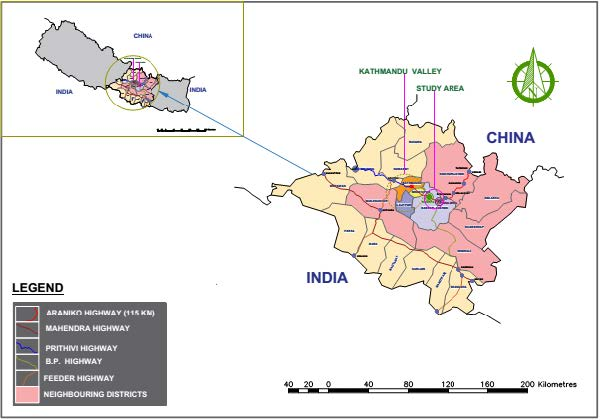 Study of Potential Impacts of Cross-Border Infrastructure on Urban and Tourism Development in Nepal under China's Belt and Road Initiative