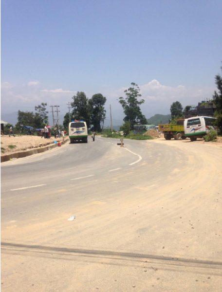 Enlarge Photo: Photo 1: Nepal China Friendship Highway (Photo taken at Dhulikhel by Bhatta,2017)