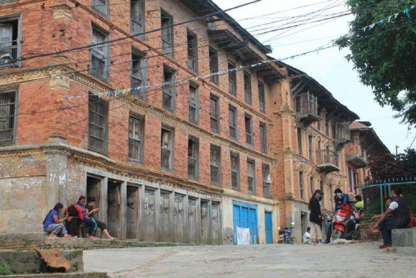 Enlarge Photo: Photo 2: Traditional Urban Core of Dhulikhel (Bhatta,2017)