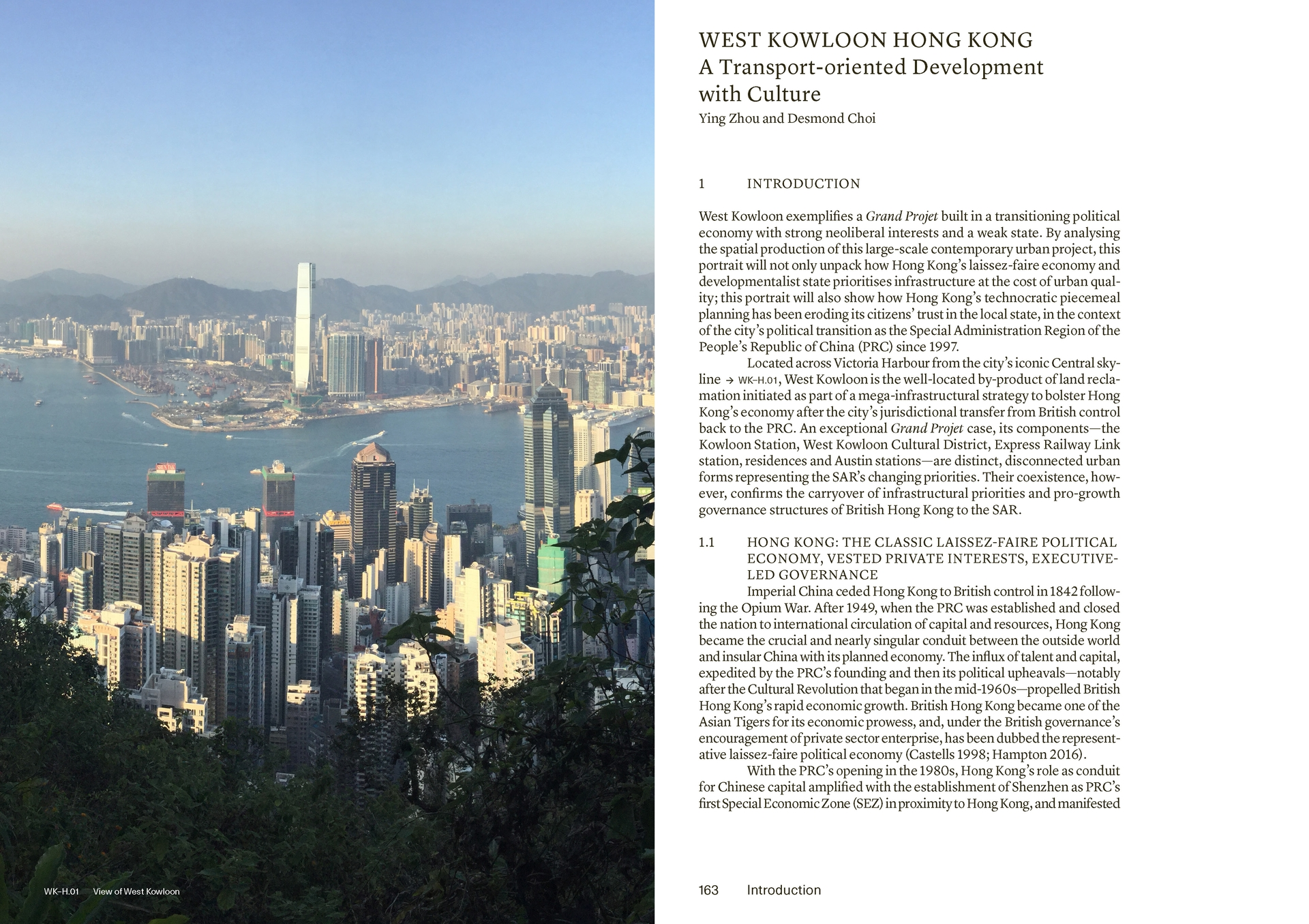 Grands Projets: West Kowloon and Lujiazui