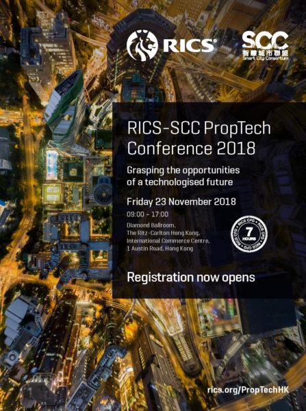 RICS-SCC PropTech Conference HK Flyer