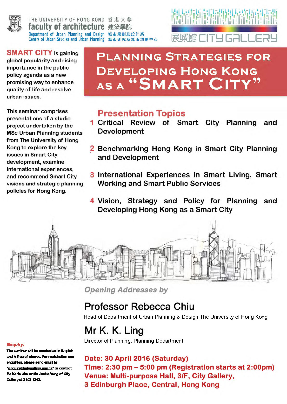 """Planning Strategies for Developing Hong Kong as a """"Smart City"""""""
