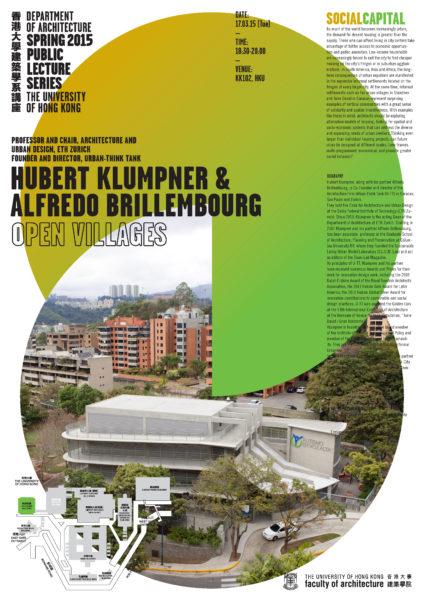 Spring 2015 Public Lecture Series – Hubert Klumpner
