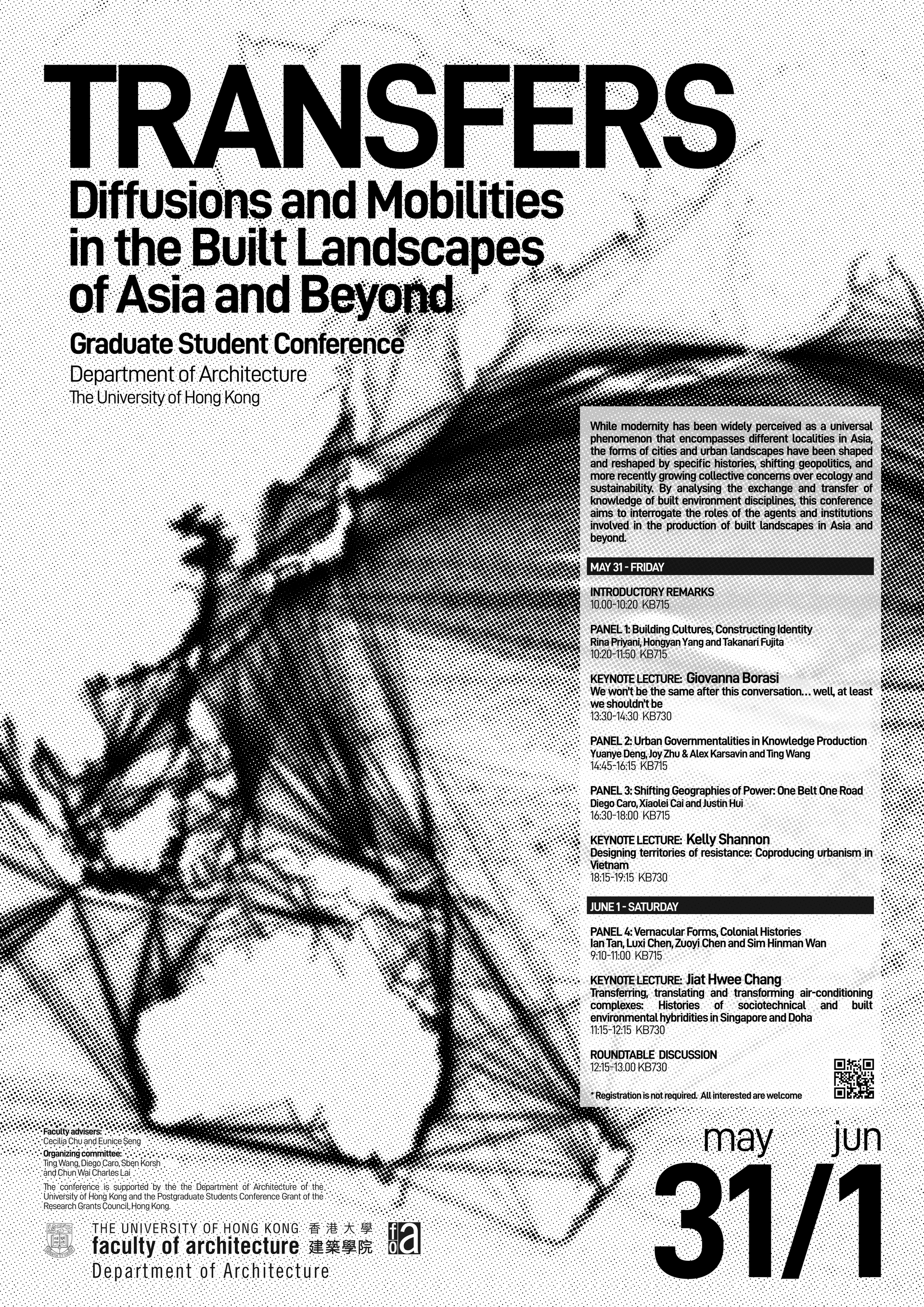 TRANSFER: Diffusions and Mobilities in the Built Landscapes of Asia and beyond